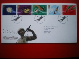 Cover 2002 Peter Pan Fdc photo