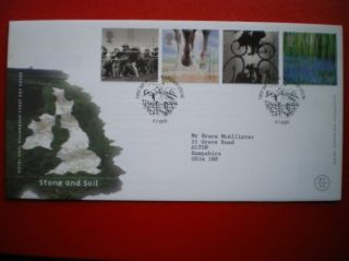 Cover 2000 Millennium Issue - Stone & Soil Fdc photo