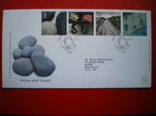 Cover 2000 Millennium Issue - Water & Coast Fdc photo