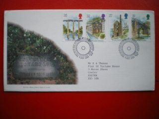 Cover 1989 Industial Archarology Fdc photo