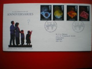 Cover 1989 Celbration Of Anniversaries Fdc photo