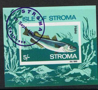 Isle Of Stroma 1969 Hake Fish Mini - Sheet photo