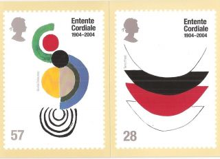 (73477) Gb Entente Cordiale - Phq Postcards 2004 photo