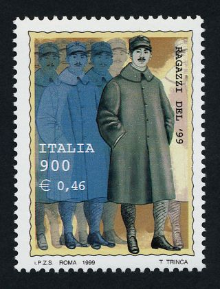 Italy 2313 Military Conscripts photo