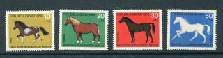 Germany West Berlin 1969 Child Welfare Horses Um photo