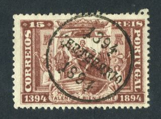 Portugal 1894.  15r Brown. . photo