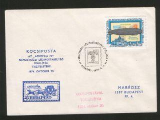 Hungary - Filatelic Cover