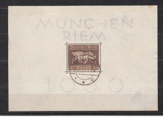 3.  Reich Block 4 Brown Ribbon 1936 photo