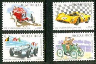 Belgium Formula 1 Cars - Ferrari - Mercedes - Alfa Romeo - 4 Vals - 1996 - photo