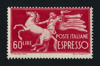 Italy E25 Mh (printing Error) Horse photo