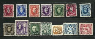 Slovakia - - - German Protectorate - - - - - - 14 Different Singles photo