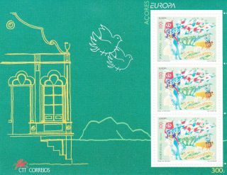 Portugal Europa 1998 Popular Events AÇores Souvenir Sheet photo
