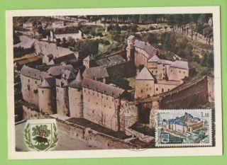 France 1971 History,  Cheteau De Sedan Maximum Card,  Fdi photo