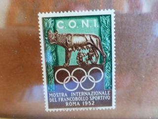 Rome 1952 Olympic Postage Stamp photo