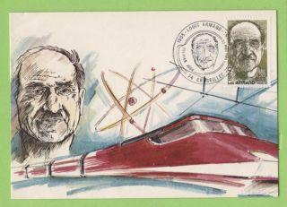 France 1981 Louis Armand Maximum Card,  Fdi photo