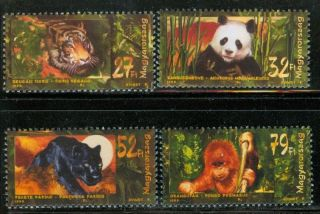 Hungary - 1999.  Wild Animals Of Asia/tiger Mi: 4544 - 4547 photo