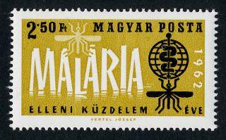 Hungary 1461 Mh Malaria Eradication,  Who,  Medicine,  Insect photo