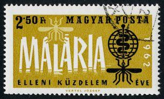 Hungary 1461 - Malaria Eradication,  Who,  Medicine,  Insect photo