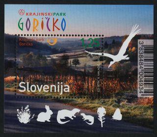 Slovenia 947 (mi965) Goricko Regional Park,  Birds,  Animals photo