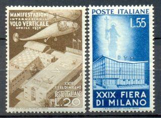 Italy Michel 830/1.  Quality Super Lux.  Cote 130 Euro photo