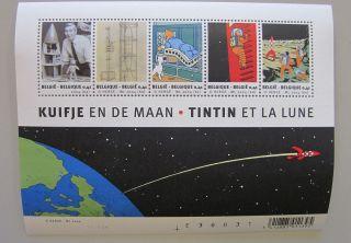 Tintin Stamp - Tintin And The Moon - Tintin Et La Lune - Belgian Po 2 - 4003 photo