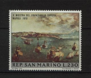 San Marino 1970 Sg 891 Europa Stamp Exhibition photo