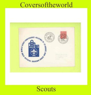 Finland 1969 Scout Conference,  Helsinki Cancel Cover photo