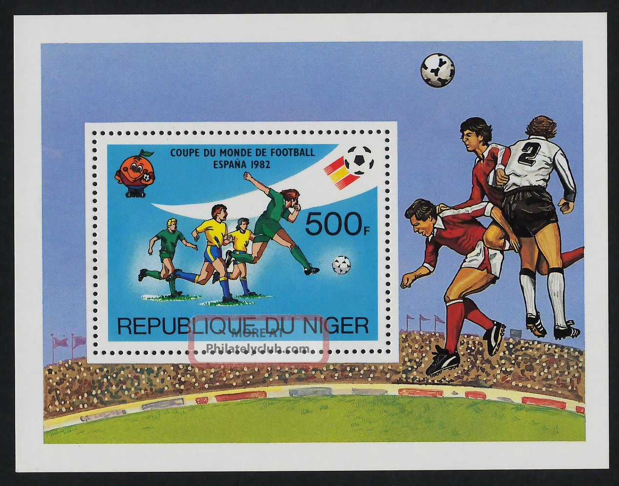 Niger 562 Sports,  World Cup Soccer,  Football Africa photo