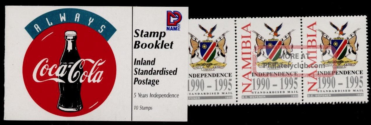 Namibia 778 Booklet Sb4 Crest,  Animals,  Independence Africa photo