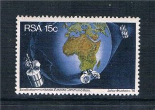 South Africa 1975 Satellite Communications Sg 392 photo
