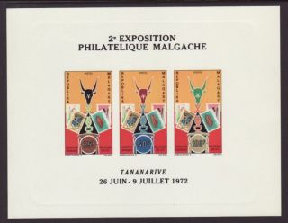 Madagascar 470a Deluxe Proof Vf (14619) photo