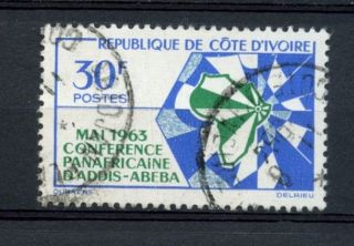 Ivory Coast 1963 Sg 222 African Heads Of State A27047 photo