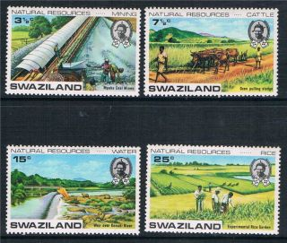 Swaziland 1973 Natural Resources Sg 200/3 photo