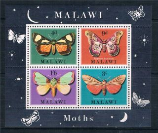 Malawi 1970 Moths M.  S.  Sg 362 photo