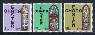 Ghana 1971 Easter Sg 600/2 photo