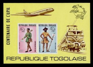 Togo C223a Mail Delivery,  Uniforms,  Train,  Aircraft photo