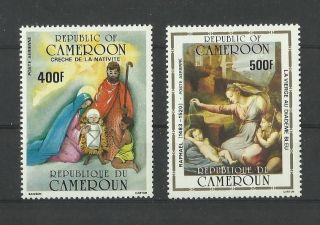 1109.  Rep.  Cameroun 1985 Christmas Mich.  Num.  1106/1107 photo