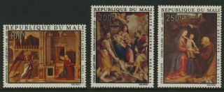 Mali C205 - 7 Christmas,  Art,  Paintings photo