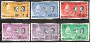 Togo 432 - 437 President ' S Visit To United States. photo