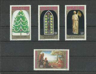 1110.  Rep.  Cameroun 1983 Christmas Mich.  Num.  1028 - 1031 photo