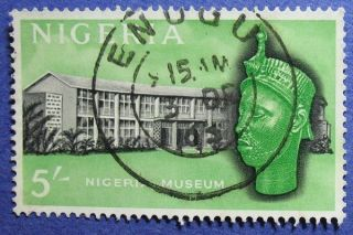 1961 Nigeria 5s Scott 111 S.  G.  99   Cs08583 photo