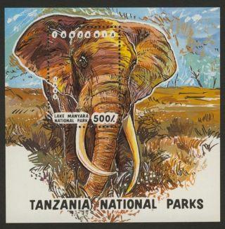 Tanzania 1192 Elephant,  Lake Manyara National Park photo