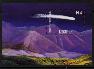 Lesotho 530 Halley ' S Comet photo