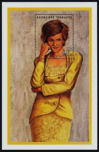 Togo 1799a Princess Diana,  Royalty photo