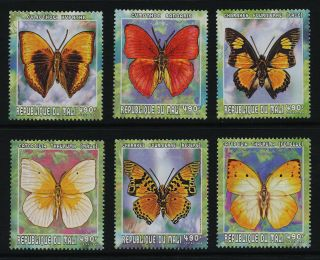 Mali 1029 A - F Butterflies photo