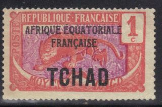 Chad Stamp Scott 19 Stamp See Photo photo