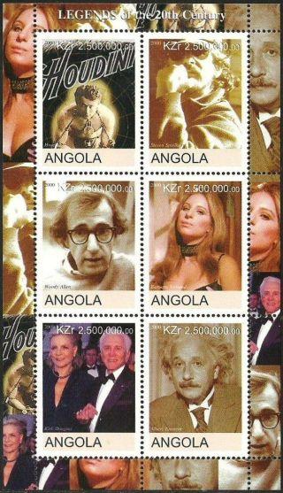 Angola 2000 Films Magic Spielberg Alan Striesand Einstein Douglas photo