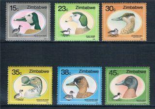 Zimbabwe 1988 Ducks & Geese Sg 740/5 photo
