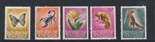 Togo 511 - 515 photo