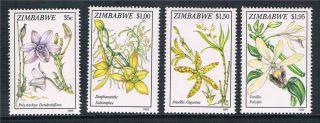 Zimbabwe 1993 Orchids Sg 860/3 photo